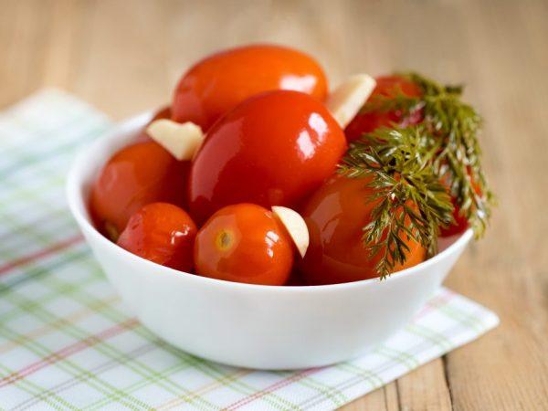 Солёные помидоры снятся к радости