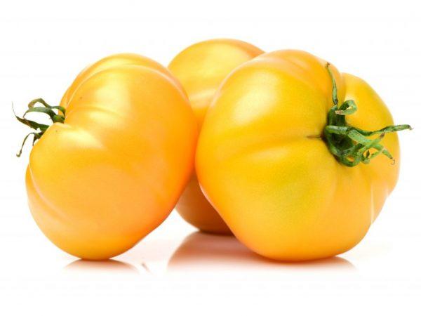 Описание томата Гигант Лимонный