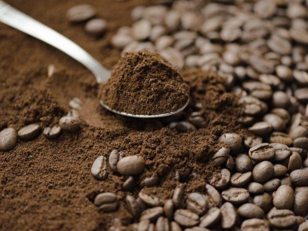 В кофейной гуще содержится много витаминов