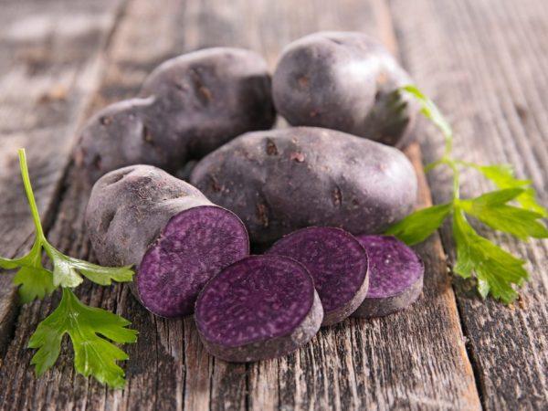 Картофель средних размеров