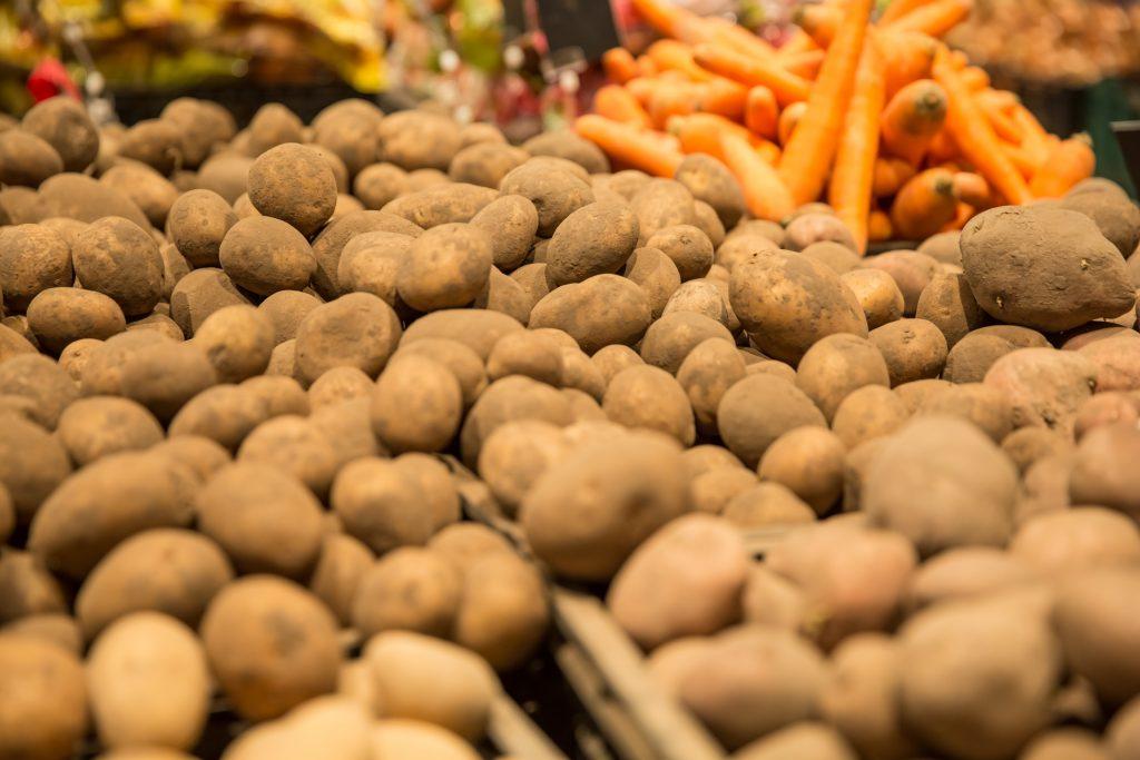 Ларь для картофеля в погребе
