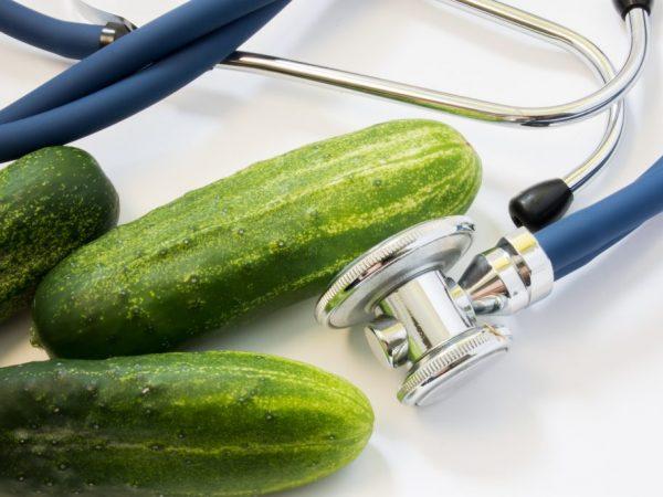 Определение нитратов в огурцах