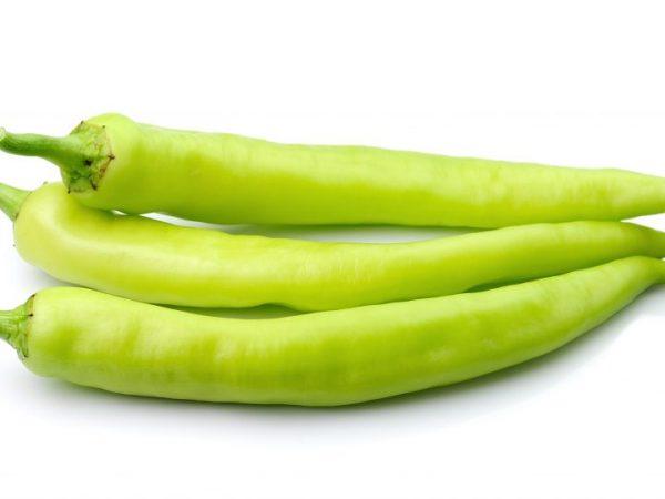 Зеленый острый перец Чили