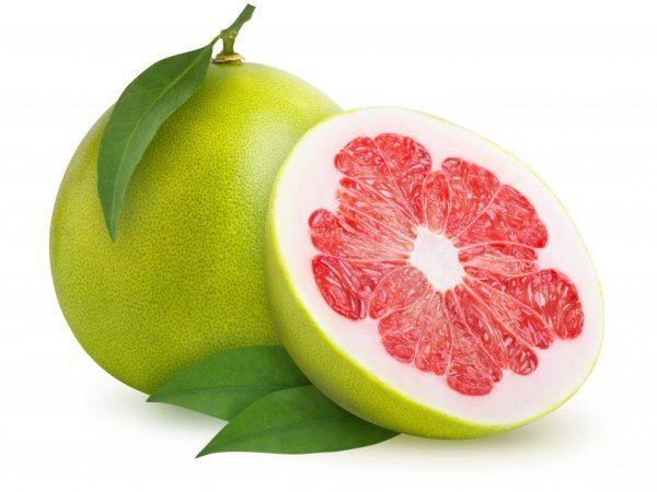 Экзотический фрукт помело