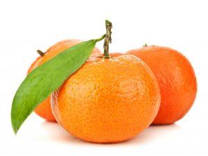 Содержание витаминов в мандаринах
