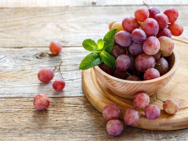 Уровень кислотности винограда