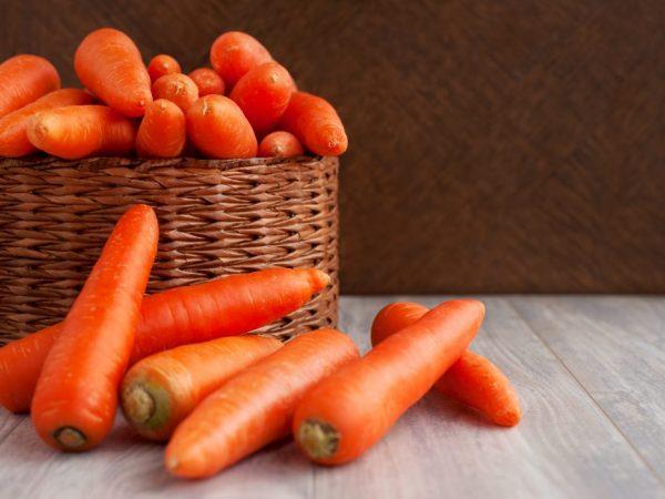 Самая сладкая и сочная морковь