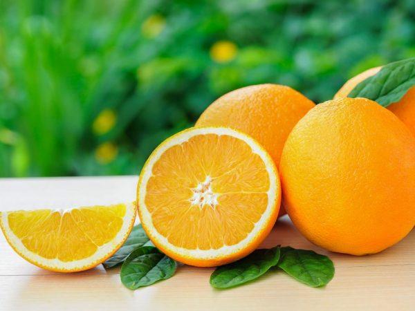 Апельсины вызывают аллергию
