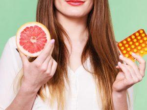 Совместимость грейпфрута с лекарствами
