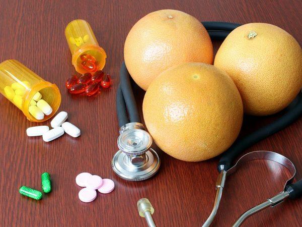 Фрукт усиливает побочные действия аспирина