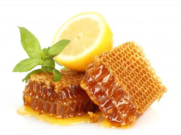 Польза от мёда с лимоном
