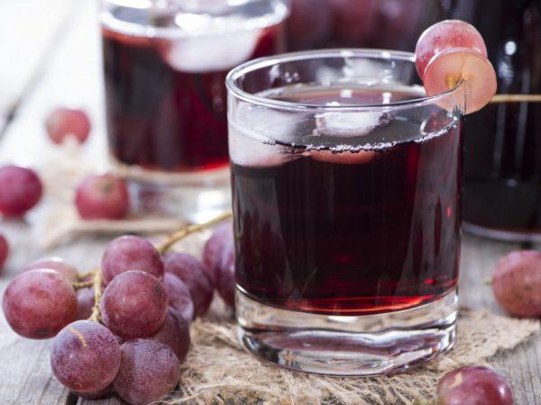 Виноградный сок в домашних условиях приготовление 520