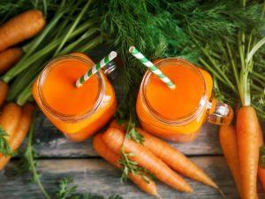 Содержание витаминов в моркови