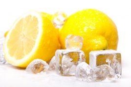 Польза замороженных лимонов