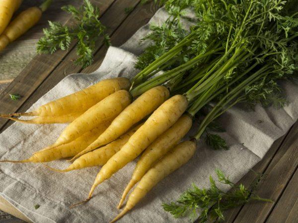 Состав желтой моркови