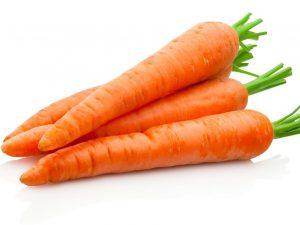 Химический состав и калорийность моркови