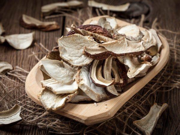 Сушеные грибы можно хранить долго