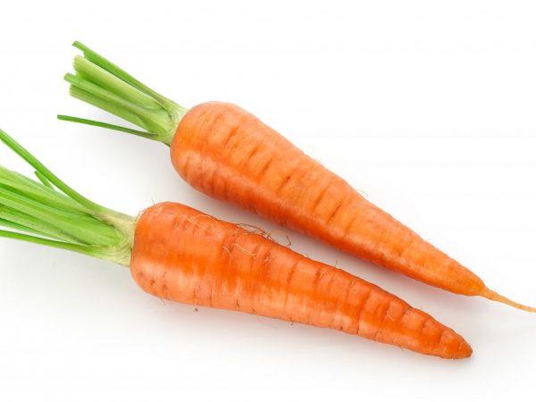 Сколько весит морковь среднего размера