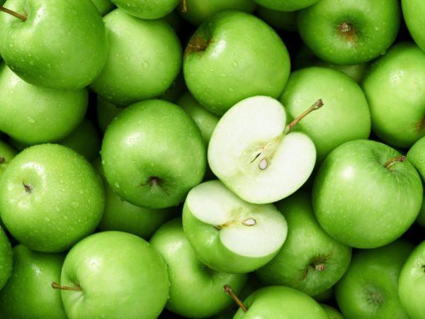 Железо в составе яблок