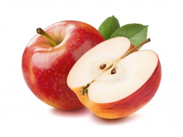 Полезно есть яблоки целиком с кожурой