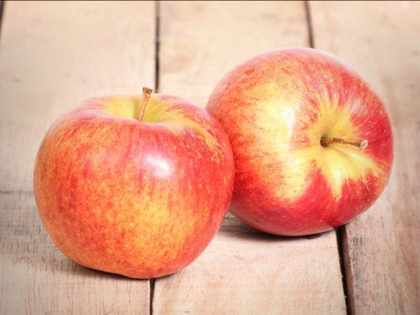 Яблоки могут отличаться по внешнему виду