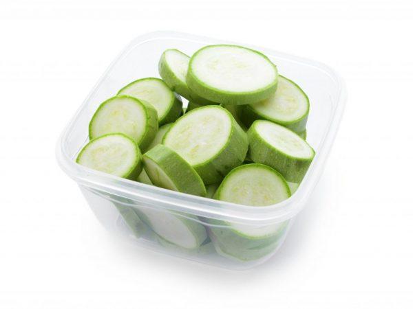 Овощ к заморозке необходимо подготовить