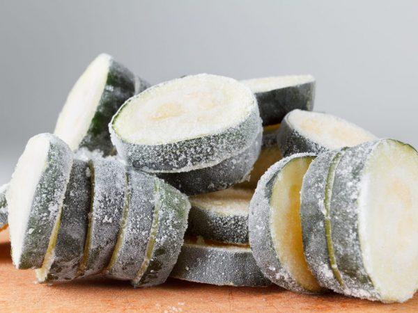 Заморозка кабачков на зиму