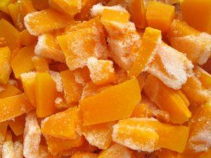 Способы заморозки тыквы