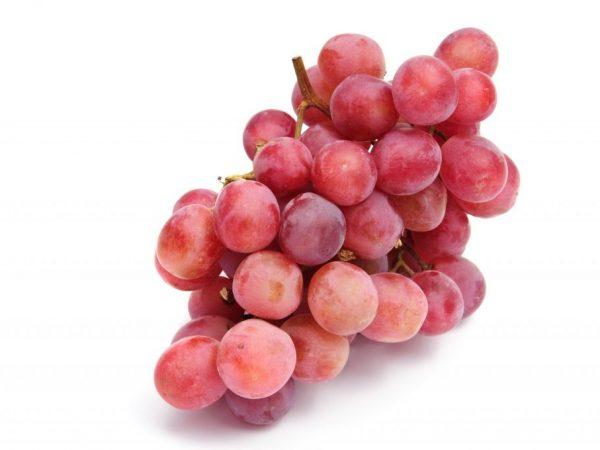 Крупные розовые ягоды