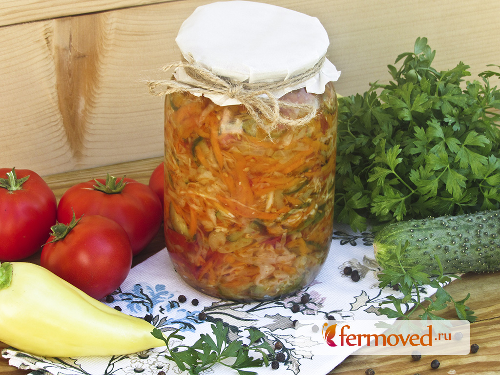 салат кубанский на зиму рецепты с фото вср формируются импульсы